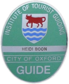 Institute of Tourist Guiding - City of Oxford
