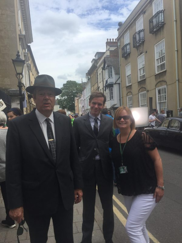 Meeting Endeavour in Oxford!