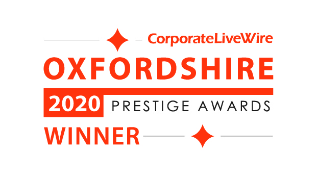 Coprorate LiveWire Oxfordshire 2020 prestige awards winner