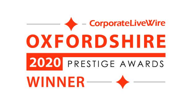Coprorate LiveWire Oxfordshire 2020 prestige awards winner